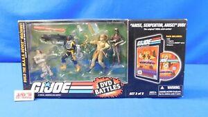 G.I. Joe ARAH DVD Battles 4-Figure Pack Set 3/5 Arise, Serpentor, Arise Hasbro