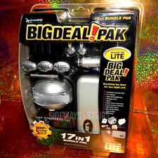 NINTENDO DS LITE ACCESSORY BUNDLE 17 IN 1 dreamGear Big Deal Pak video game case