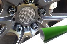 Para Muchos Vehículos 4x Llantas Aluminio Ejes Tapa Diseño Lámina Verde Lima