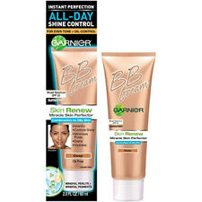 2pk Garnier BB Cream Deep Color Skin Renew Miracle Skin Perfector Oil Free 2 Oz