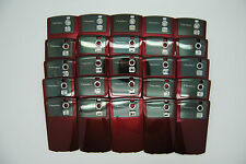 LOT of 25 BLACKBERRY CURVE 8300 8320 RED Battery door cover
