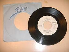 CLOUT  portable radio /    used vinyl 45