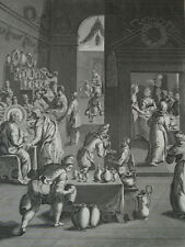 Jésus Christ les Noces de Cana Héliogravure de 1863