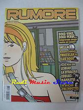 Rivista RUMORE 185/2007 Pipettes Shellac Club Dogo Truceklan Lesbian Nico No cd