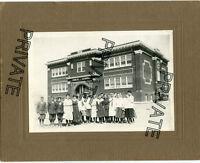 Antique Photo - 1916 School Students - Brideport High School - Poss. Neb ?