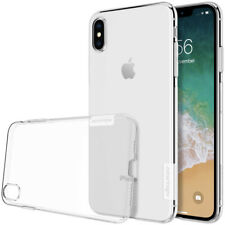 Funda Nillkin Nature para iPhone XS MAX Gel Antideslizante Transparente Clear
