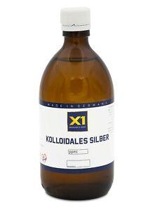 Kolloidales Silber (Silberwasser) 25ppm  -  mit Herstelldatum! - (250-1000ml)