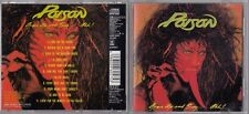 POISON - OPEN UP AND SAY AHH! CD 1988 JAPAN 25DP 5023 CBS SONY RARE