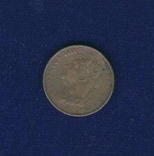 G.B./U.K./ENGLAND GEORGE IIII  1821  1 FARTHING COPPER COIN, XF+