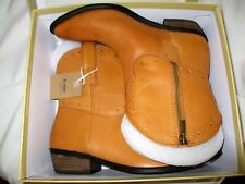 """Women's Leather Boots Leather Ankle size 8 1/2"""" Chantel - X Limited Edition"""