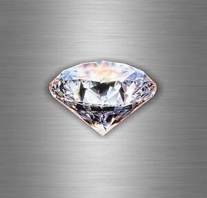 Autocollant sticker voiture moto tuning bomb diamant punk bijoux casque  r4