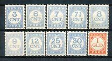 Nederland port  69 - 79 B postfris