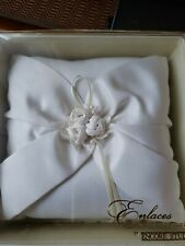Enlaces Bridal Collection Wedding Ceremony Ring Bearer Pillow