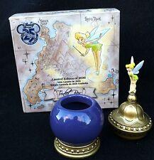NIB Disney Store 25th Tinker Bell Limited Edition of 2000 Trinket Box Figurine
