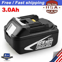 18V 3.0Ah REPLACE BL1830 BATTERY LXT LITHIUM-ION For Makita BL1840 BL1850 BL1860