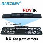Rearview Camera CCD HD car reverse camera European License Plate Camera car pa