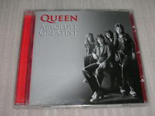QUEEN absolute greatest EU CD 20 TRACKS NEW REMASTERED