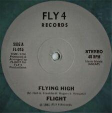 "Flight – Flying High / No More Part Time Lovin' - 12"" INCH   COLOR VINYL"