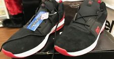DC Shoes Men's Heathrow Sneakers Red and Black Size 12 New In Box