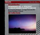 Philips - Mendelssohn / Symphony No.4 'A Midsummer Night's Dream' Boston Davis