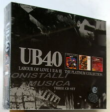 UB 40 - LABOUR OF LOVE I II & III THE PLATINUM COLLECTION - 3 CD Sigillato