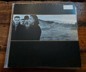U2 - THE JOSHUA TREE LP U26 EMI PRESSING ISLAND  RECORDS 1987 VG+!