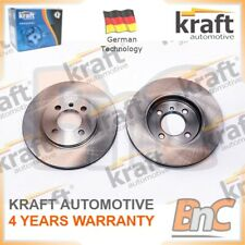 2X BRAKE DISC SET BMW KRAFT AUTOMOTIVE OEM 34111154750 6042520