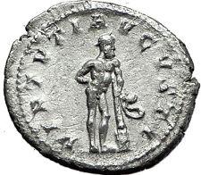 "GORDIAN III 241AD Rome Ancient Silver Roman  Coin ""Farnese"" Hercules i59129"