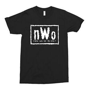 NWO T-shirt Raw is War WCW Monday Nitro T-shirt birthday present novelty