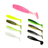 2.6g 55mm Soft Fishing Lures Silicone Shad Easy Shiner T Paddle Fish Baits Set