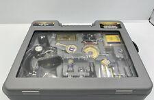 Micro-Science Deluxe Microscope Set Zoom Power 100x-1200x No. 9003