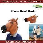 1PC Costume Horse Head Mask Halloween Latex Carnival Party Theater Props Toys