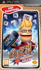 Buzz! Master Quiz / Sony PSP / gra nowa