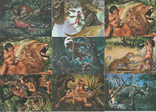 42 Trading Cards Joe Jusko's Edgar Rice Burroughs Collection Tarzan Neuwertig