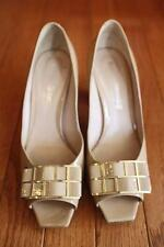 RUSSELL & BROMLEY patent leather peep toes heels Size 37 (sh3000