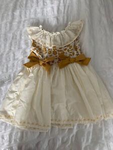 Handmade Spanish Girls Dress 2-3 Years