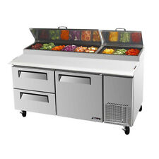Turbo Air Tpr-67Sd-D2-N 1 Solid Door+2 Drawers Pizza Prep.Table