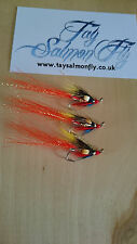 3x Ghillie Size 12 Treble Hook  Salmon Fishing Flies