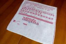ROTSTICK SAMMLER ABC MUSTERTUCH SCHMITZ CHRISTINA 1912 34x26 CM