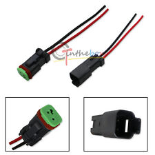 Heavy Duty Deutsch DT DTP Male/Female Adapters Connectors Pigtails For Lights