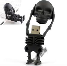 450*Skull Head Removal USB Flash Drive Skeleton Drive Cartoon U Disk Memory16G
