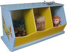 Liberty House Toys 3-bin Storage Unit for Boys