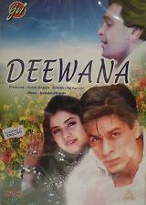 DEEWANA - GVI ORIGINAL BOLLYWOOD DVD-Shahrukh Khan, Divya Bharati, Rishi Kapoor.