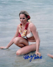 URSULA ANDRESS SIGNED AUTOGRAPHED 8x10 PHOTO VERY SEXY PRETTY YOUNG BECKETT BAS