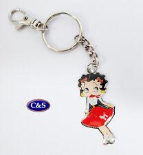 Betty Boop - Betty Hops- Key ring/chain - (KR975)