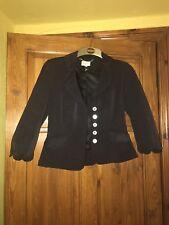 Karen Millen Black 3/4 Short Jacket  - UK 10 Worn Once - excellent condition