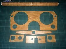 HR Holden Textured Woodgrain Dash Kit Metal Backed The Best Clearance! Was $180