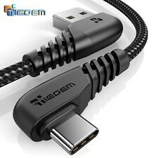 TIEGEM 90 degree USB Type C Cable 2A Fast Charging Cord for Nintendo Samsung S8