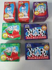 1996 Lot of 7 McDonalds 101 Dalmatians Snow Domes