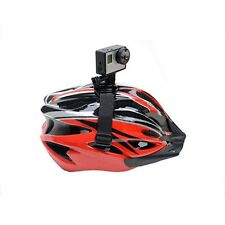 New Bike Vented Helmet Strap Mount Adapter for Sport Camera HD 1 2 3